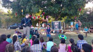Show com o Hermann, o mágico do Brasil