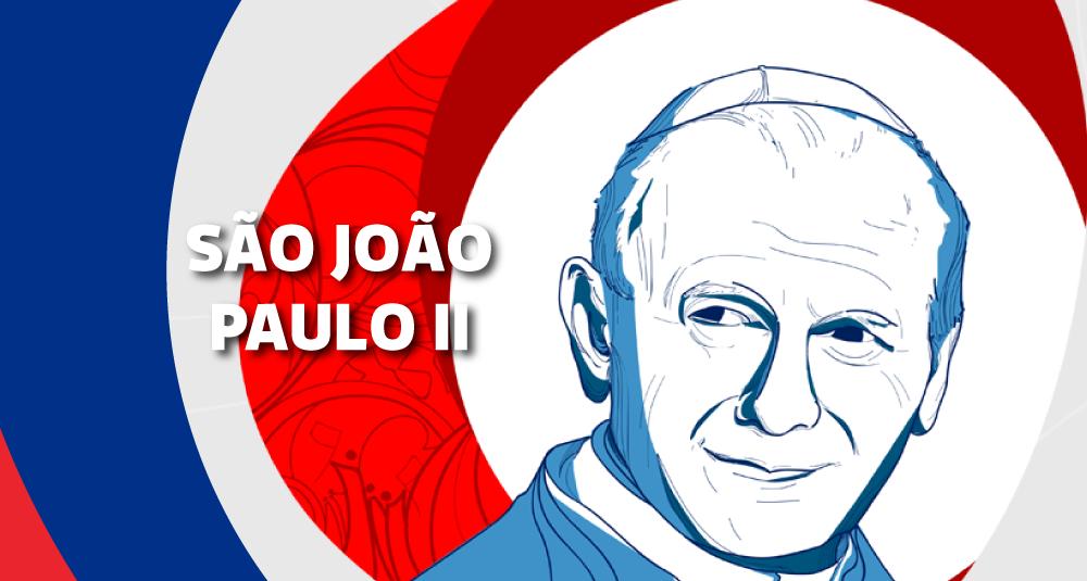 Santos Patronos Jmj São João Paulo Ii Movimento De Vida Cristã